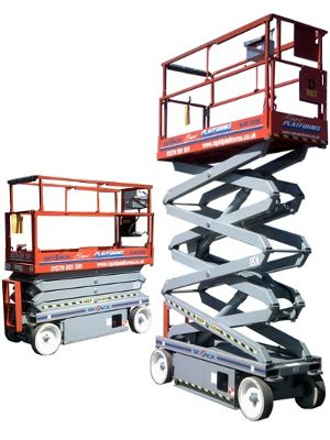 SKYJACK SJIII 3226 Scissor LiftUPRIGHT SL-30 SPEED LEVEL Scissor Lift