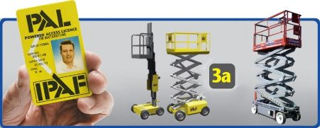 IPAF Scissor Lift Training - IPAF 3a