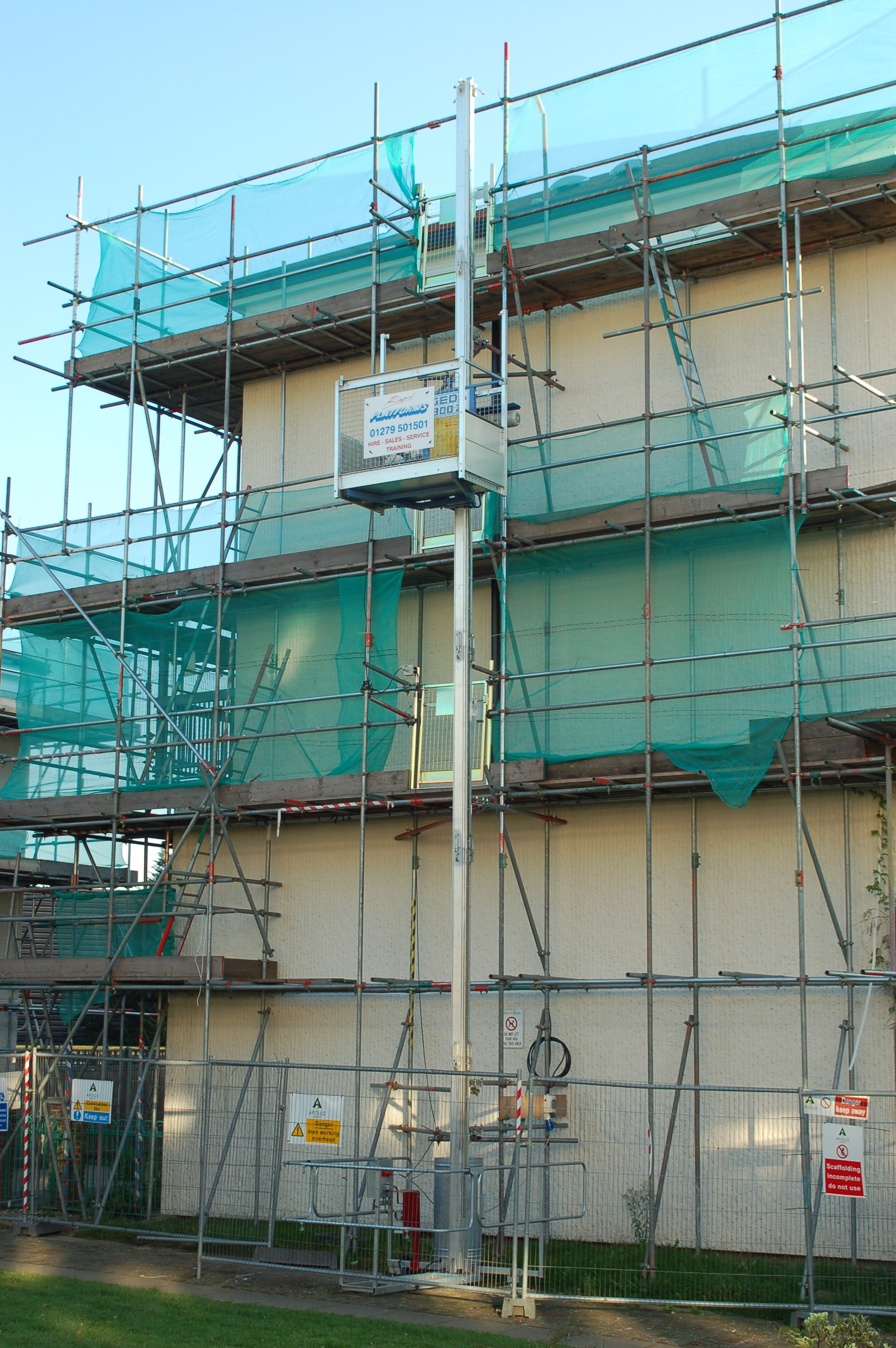Selecting the right hoist for your refurb project